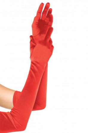 Extra Long Satin Gloves