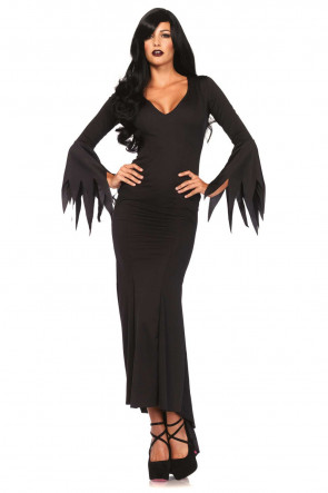 Floor length gothic dress
