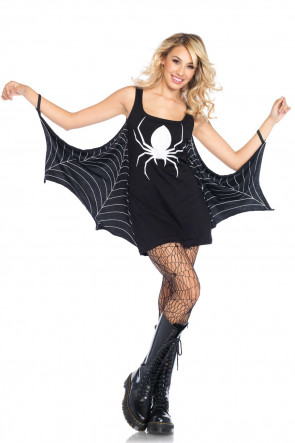 Jersey Spiderweb Dress