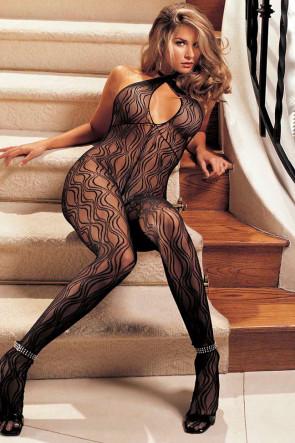 Swirly Lace Bodystocking