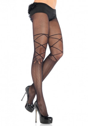 Diamond Knee Pantyhose