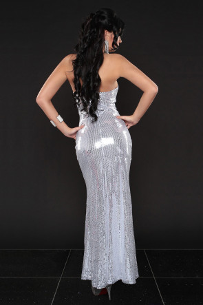 Sexy Sequin strapless dress