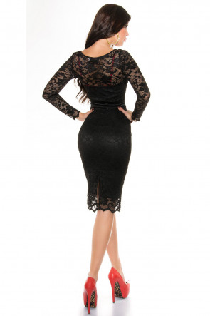 Laced Pencil Dress
