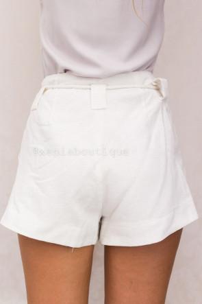 Ecru Shorts
