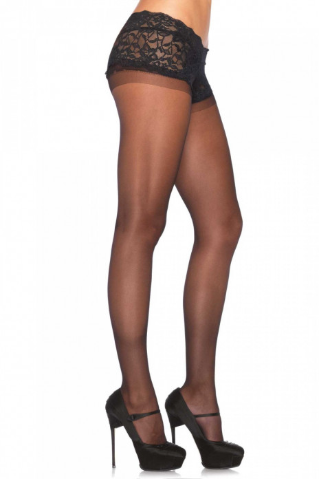 Lace Boyshort Pantyhose