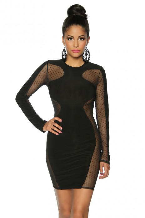 Side Mesh Dress