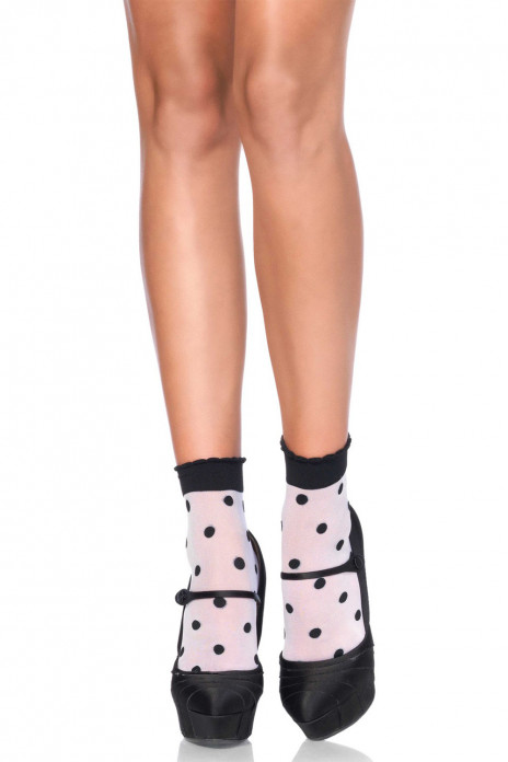 Spots and Dots Anklet Socks