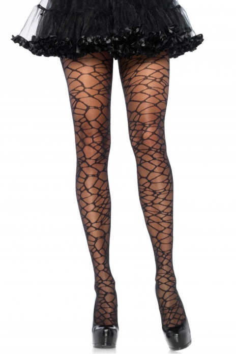 Woven Crackle Pantyhose