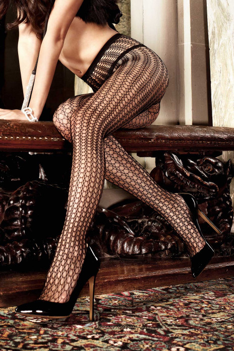 Net Pattern Pantyhose