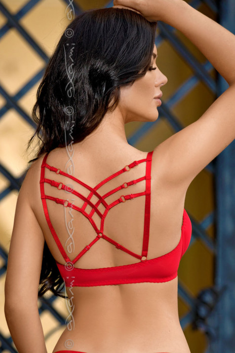 Venetian Mirror Strappy Secret - BH Red