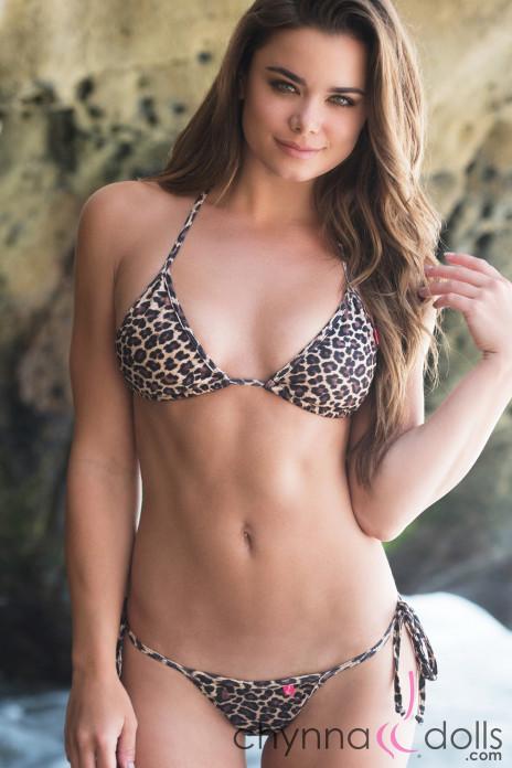 Cape Town Thong Leopard