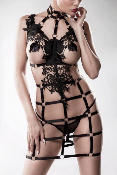 Exclusive 2pc Lace Harness Set