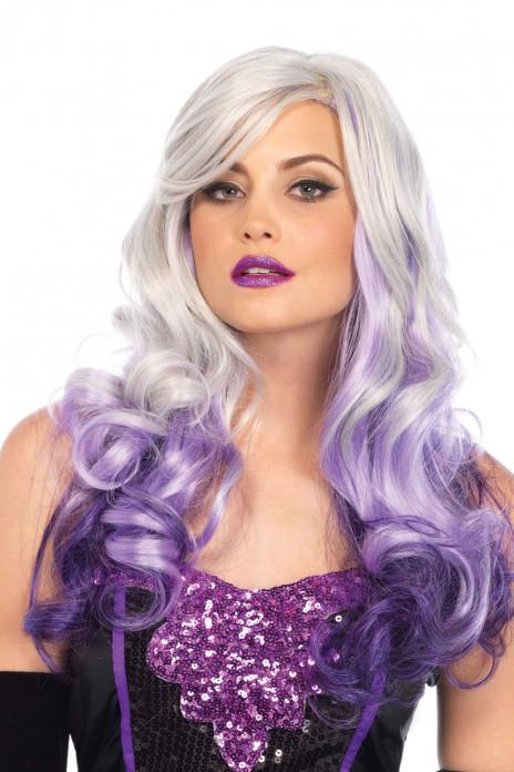 Allure Multi Color Wig Grey & Purple