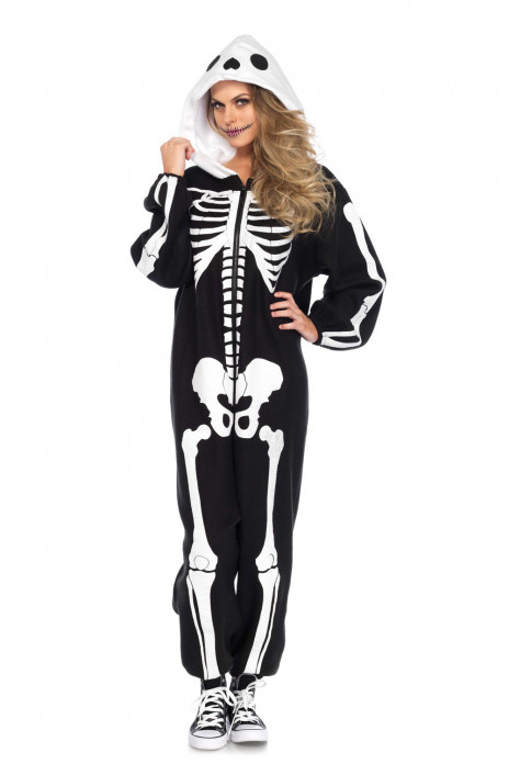 Cozy Skeleton Onesie