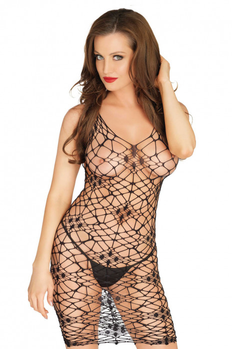 Net Minidress
