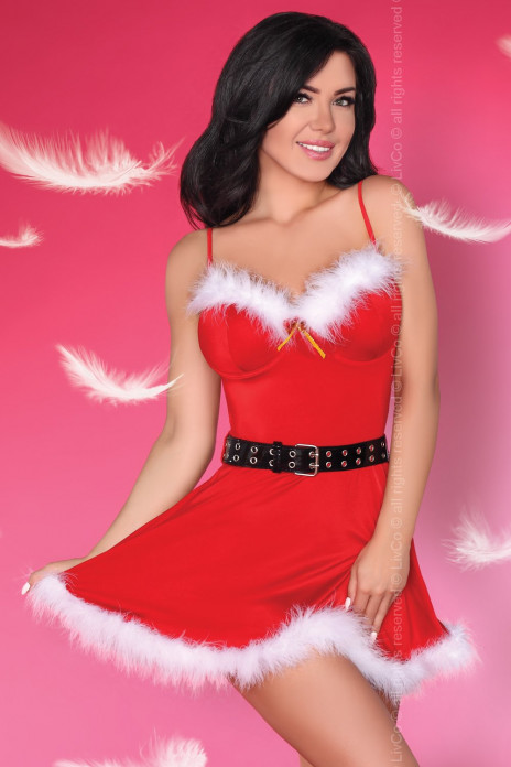 Meredith Santa Dress