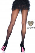 Rhinestone Backseam Pantyhose