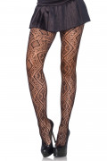 Moroccan Diamond Net Pantyhose
