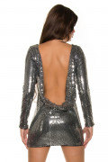 Gala Sequin Dress