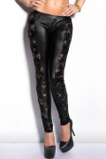 Leggings with Lace Details