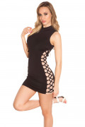 Minidress with Lacing