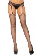 2PC Net Stockings & Garter belt