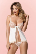 Lace Babydoll and Thong Set