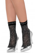 Lurex anklets Silver