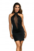 Party At Ibiza - Minidress Elegant Black
