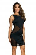 Party At Ibiza - Minidress Mesh Black