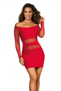 Party At Ibiza - Minidress Red