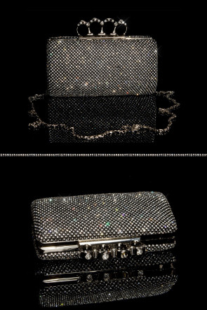 Glamour clutch bag - Black