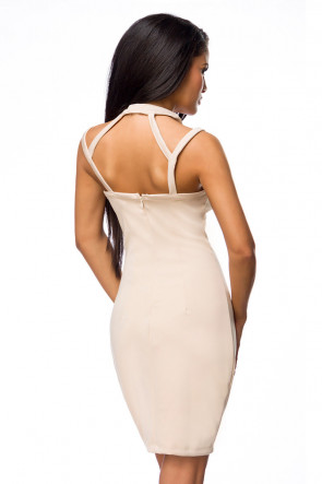 Elegant Strappy Party Dress