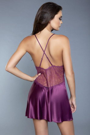 Carina Babydoll Purple