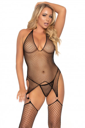 2pc Bodystocking and g-string
