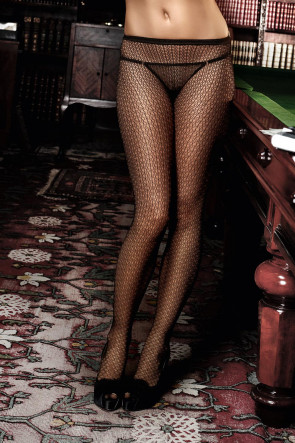 Patterned Net Pantyhose