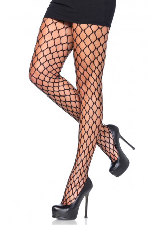 Sharp Edge Net Pantyhose