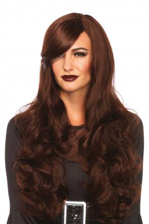Long Wavy Wig brown