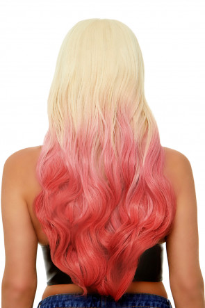 Beachy Waves Long Ombre Wig
