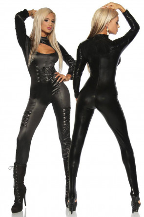 Exclusive Wetlook Catsuit