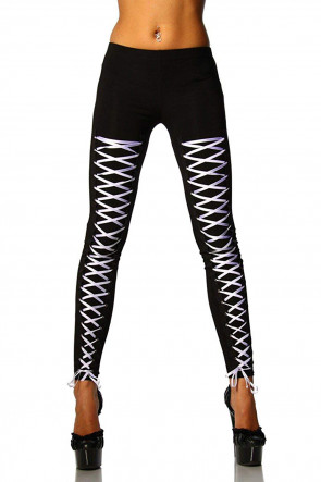 Leggings with Lacing