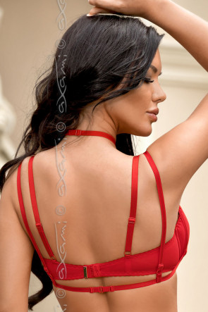 Venetian Mirror Strappy Deluxe - BH Red