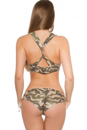 Camo Wetlook Gogo set