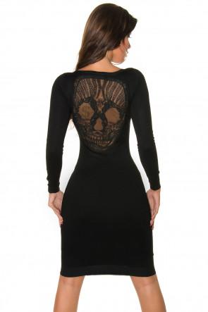Skull Knitted Dress