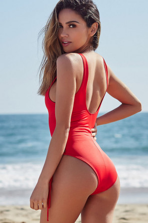 Kandy Red Monokini