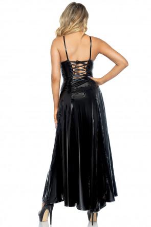 Vinyl ball gown