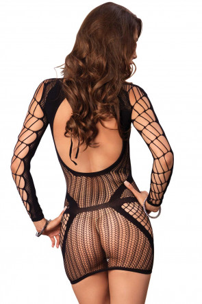 Multi Net Minidress