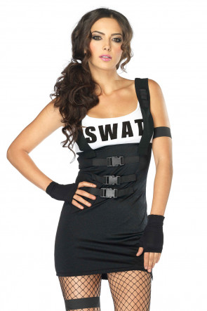 Sultry Swat Officer