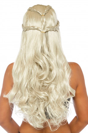 Braided Long Wavy Wig