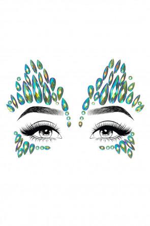 Sky Face Jewels Sticker
